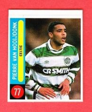 Glasgow Celtic Pierre Van Hooijdonk Holland